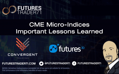 Convergent Trading w/FIO – CME Micro-Indices: Important Lessons Learned w/FuturesTrader71 – 10/29/19